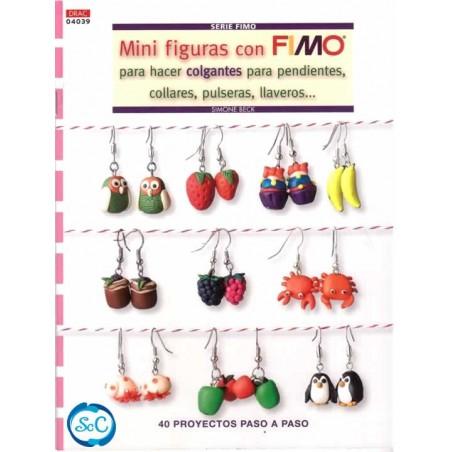 Libro DRAC 04039 Mini Figuras con Fimo