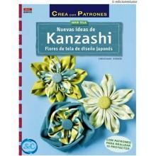 Libro Kanzashi, Flores de tela japonesas