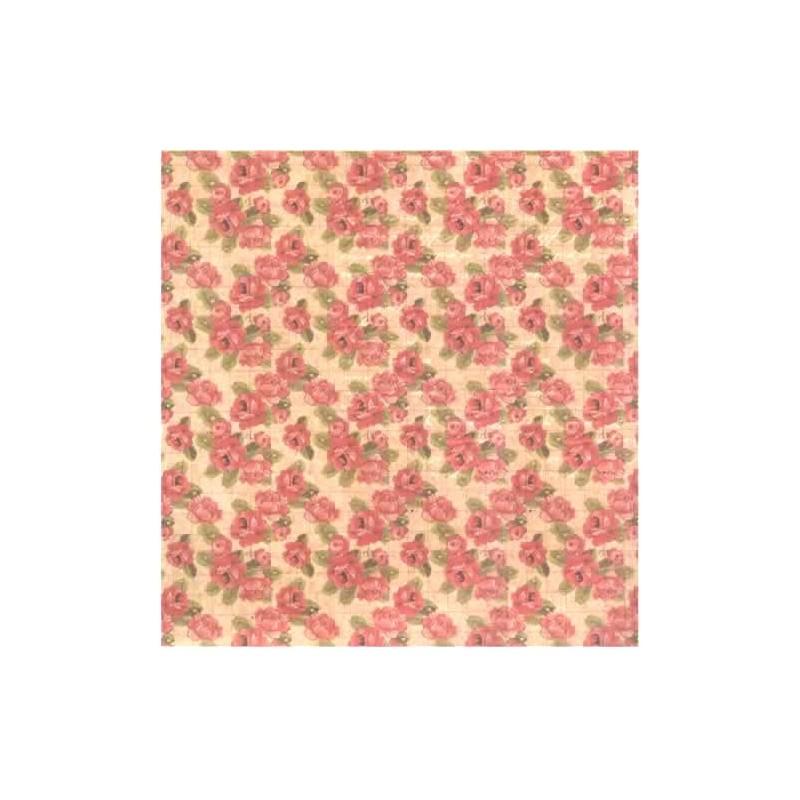 Papel scrap coleccion Romantic Montage Rosas