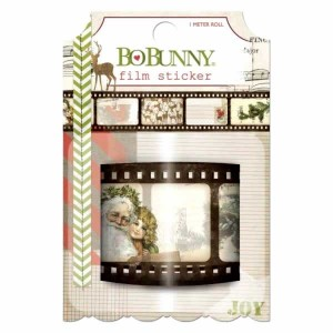 BoBnunny Christmas Collage Film Stiker