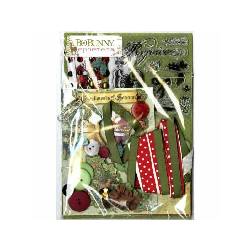 BoBunny Christmas Collage Collection Pack