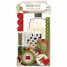 BoBunny Christmas Collage Noteworthy