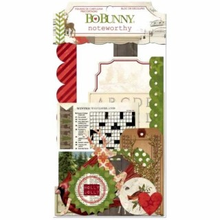 Bo Bunny Christmas Collage Noteworthy