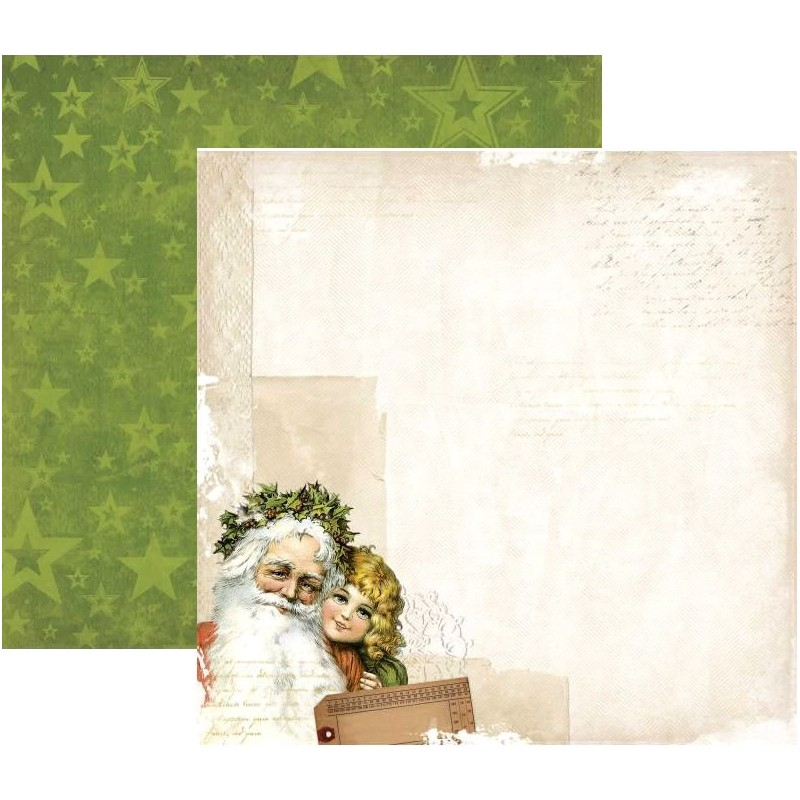 BoBunny Papel Christmas Collage Yelitude