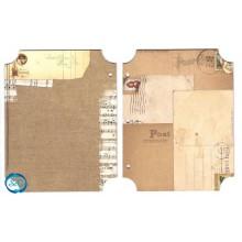 BoBunny Chistmas Collage Mini Album,hoja 2