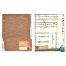 BoBunny Chistmas Collage Mini Album,hoja 3