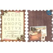 BoBunny Chistmas Collage Mini Album,hoja 6