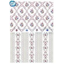Papel de arroz Simetrias florales DGR-259