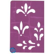 Plantilla adhesiva figuras 2, Brico 607
