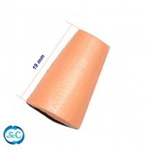 Bolsa de 50 mini tejas, 19 mm