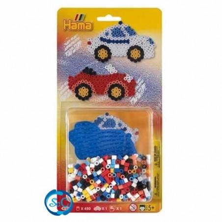 Blister Hamma Beads Coche