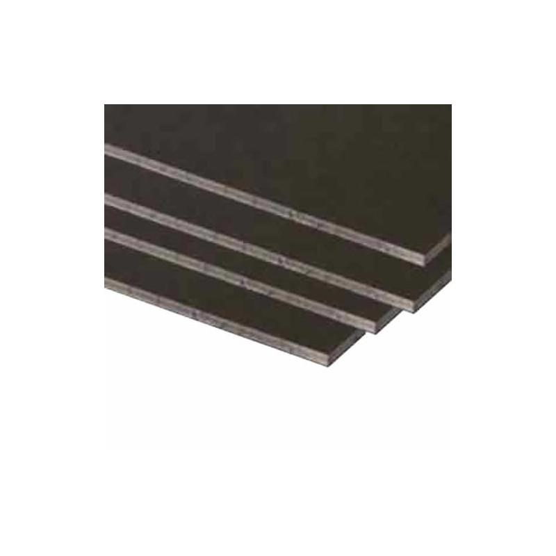 Carton Pluma negro de 5 mm, A4