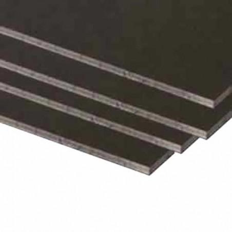 Carton Pluma negro de 3 mm 30 x 40 cm