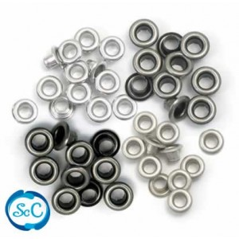 Ojales pequeños Tonos grises, 5mm