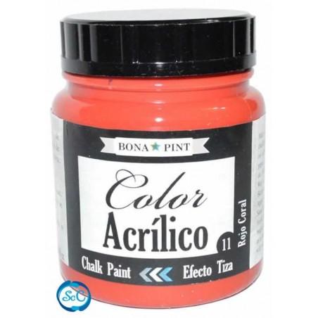 Chalk Paint Bonapint Rojo Coral