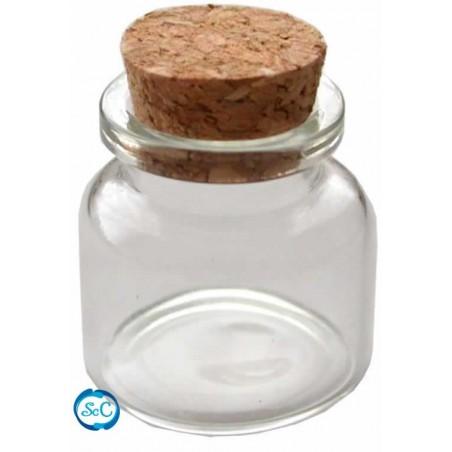 Mini botella tapón de corcho 3 cm