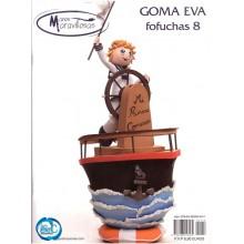 Revista Goma Eva, Manos Maravillosas, fofuchas Nº 8