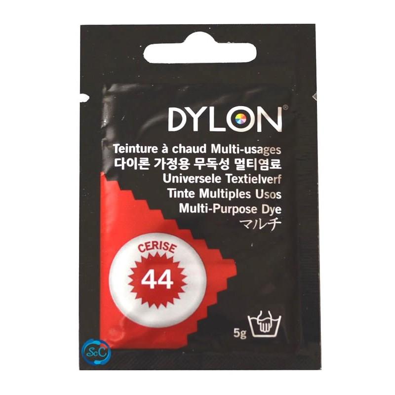 Tinte multiuso Dylon, 5 gr color rojo cereza nº 44