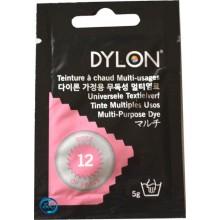 Tinte multiuso Dylon, 5 gr color rosa nº 12