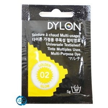 Tinte multiuso Dylon, 5 gr color amarillo nº 02