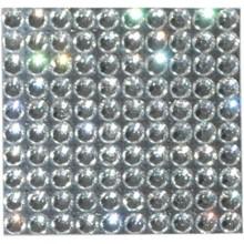 Abalorios transparentes strass 3 mm, 100 unidades