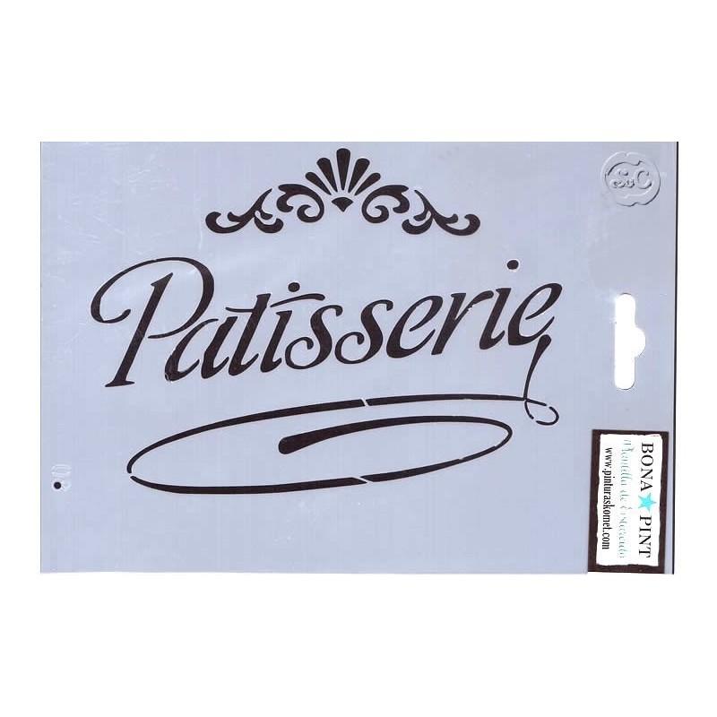 Plantilla estarcido 08 pasteleria - Plantillas para reposteria ...