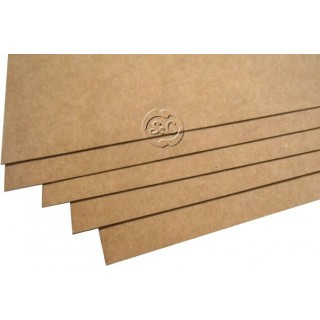 Carton craft liso marron 300 gr, 50 x 35 cm