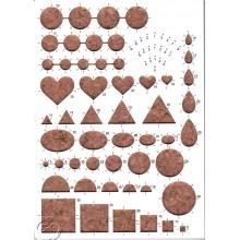 Tablero de formas para hacer filigrana