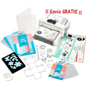 Nuevo Kit Big Shot Plus White & Gray (A4)
