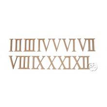 Números DM romanos para reloj, 2,6 cm