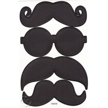 Etiquetas pizarra bigotes