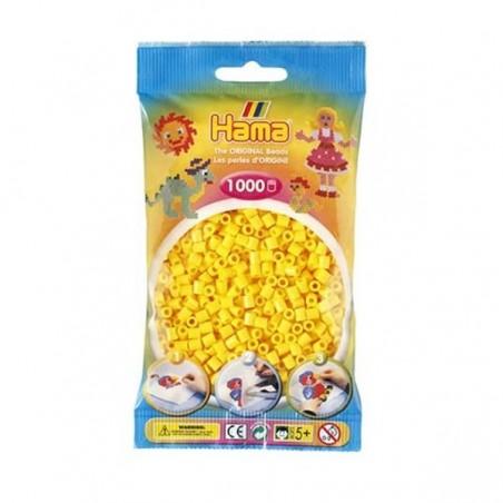 Hama Beads 1000 piezas Midi amarillo