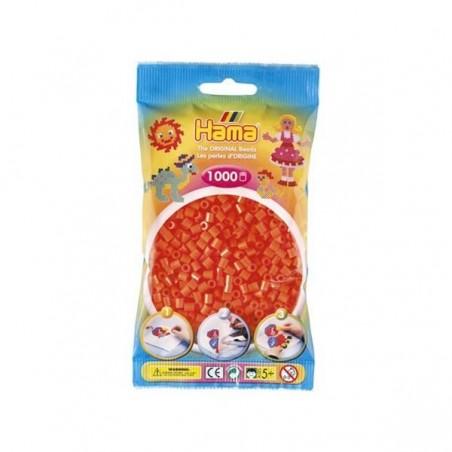 Hama Beads 1000 piezas Midi naranja