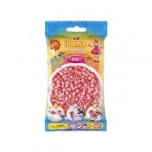Hama Beads 1000 piezas Midi rosa