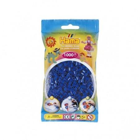 Hama Beads 1000 piezas Midi azul