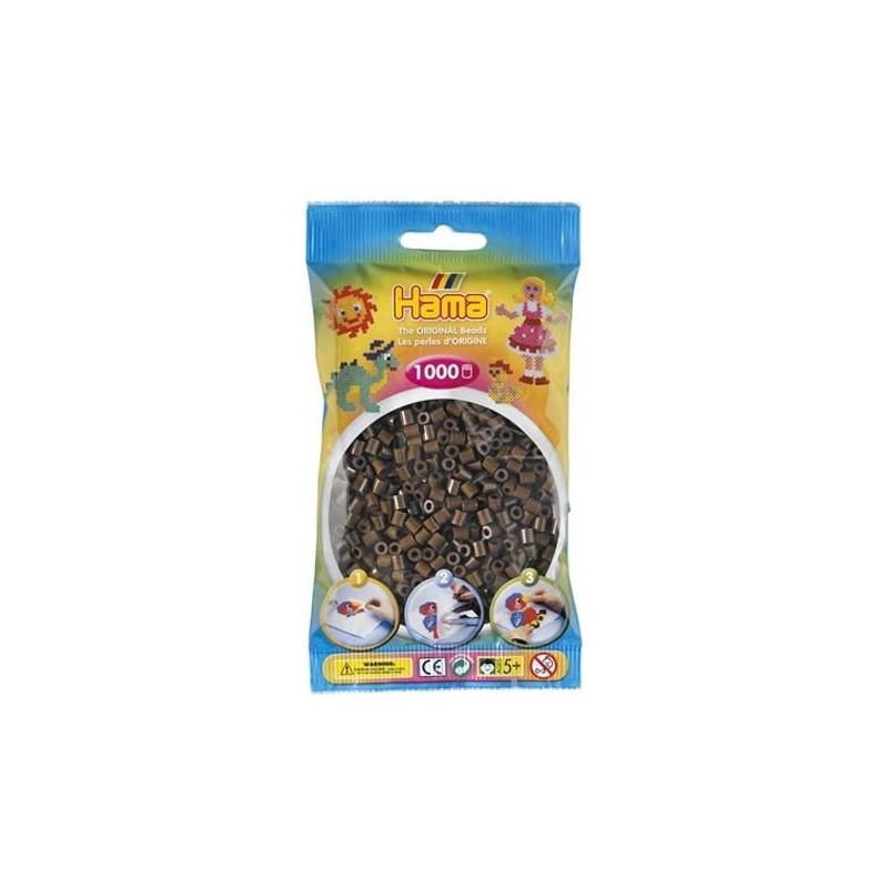 Hama Beads 1000 piezas Midi marron
