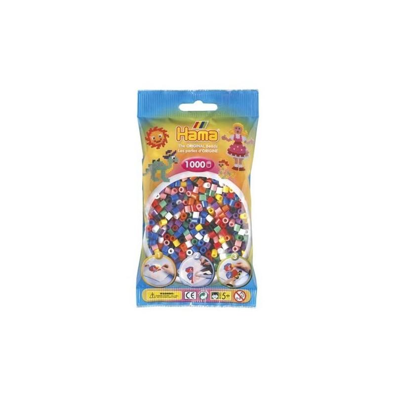 Hama Beads 1000 piezas Midi Mix 10 colores