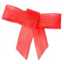 Cinta de yute 4 cm x 1 metro, Rojo