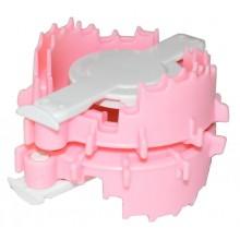 Maquina para hacer pompones de corazon 4 cm