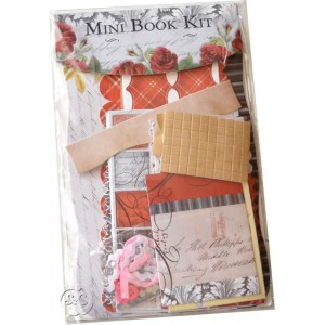 Mini book en kit vintage Paris