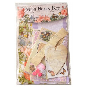 Mini book en kit Romantico
