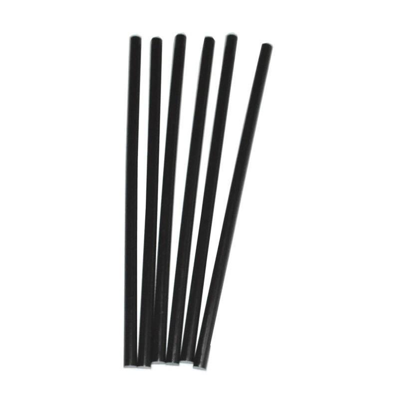 Barras de pegamento silicona de calor negras
