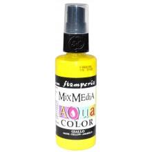 Mix Media Aquacolor Tinta amarilla, 60 ml