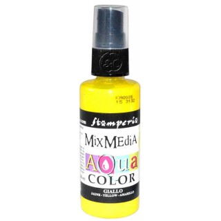 Mix Media Aquacolor Tinta amarilla, 60 ml