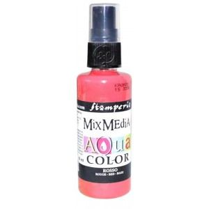 Mix Media Aquacolor Tinta roja, 60 ml