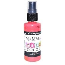 Mix Media Aquacolor Tinta roja, 60 ml