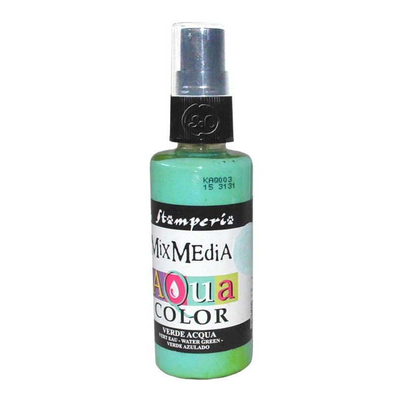 Mix Media Aquacolor Tinta verde agua, 60 ml