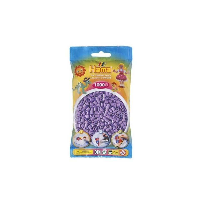 Hama Beads 1000 piezas Midi violeta pastel