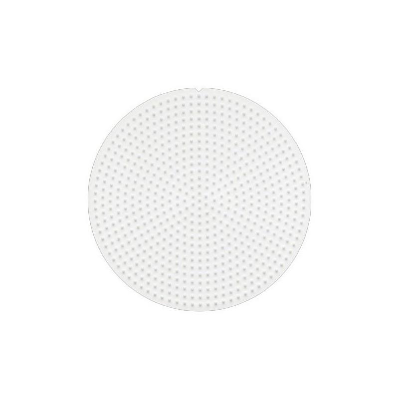Placa redonda Hama Beads Mini 8 cm