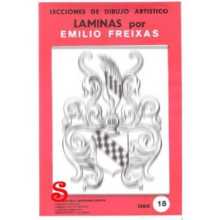 """12 Laminas dibujo E. Freixas """"Rococo"""""""